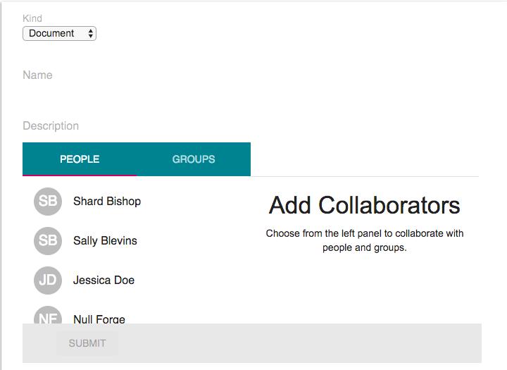 Ver colaboraciones de Google Drive