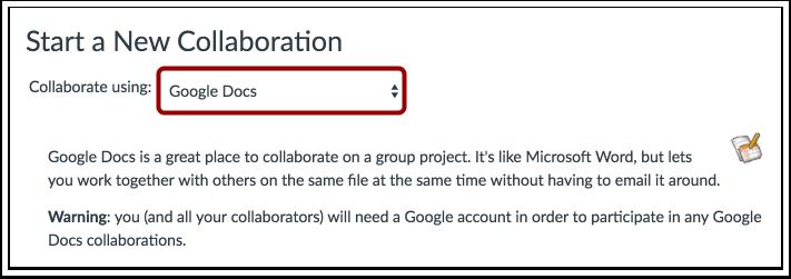 Colaborar Usando o Google Docs