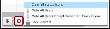 Configurações de Usuário