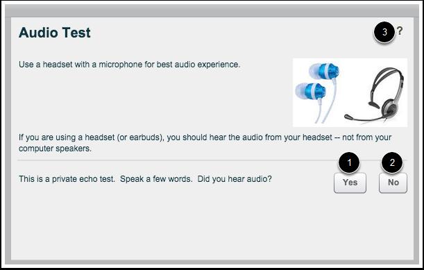 Teste de Áudio