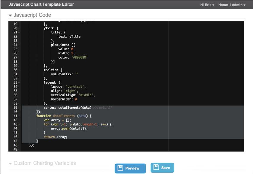JavaScript Code - customized