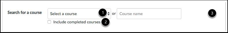 Buscar un curso
