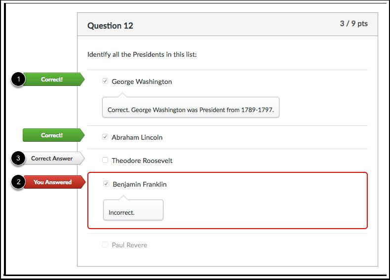 Visualização de Estudante para Comentários de Múltiplas Respostas