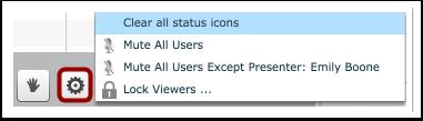 Configuraciones del usuario