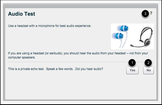 Probar el audio