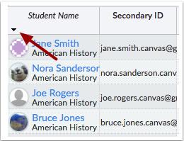 Organizar información sobre el estudiante
