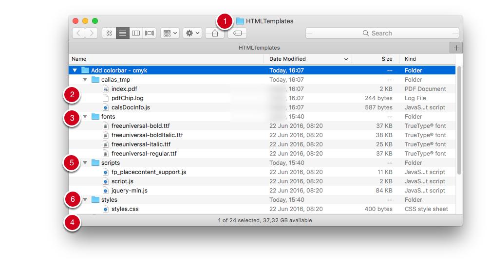 Ordner- und Dateistruktur