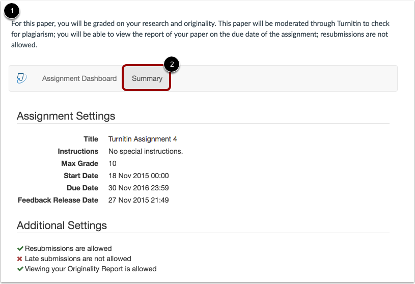 How do I submit a Turnitin assignment? | Canvas Community