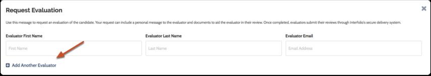 Enter basic request information