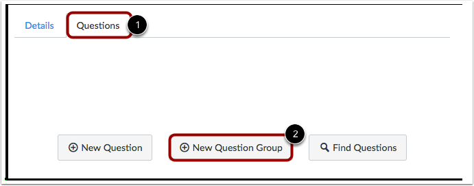 Adicionar Novo Grupo de Perguntas