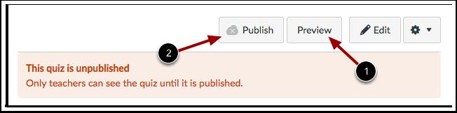 Visualizar e Publicar Questionário