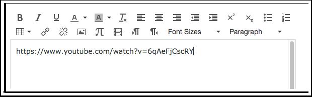 Inserir Link no Editor de Conteúdo