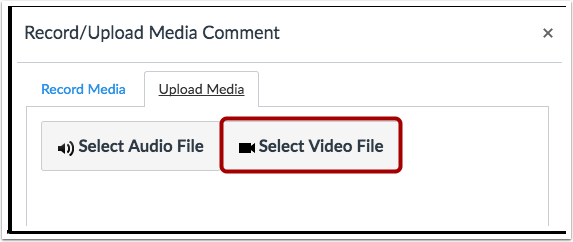Selecionar Arquivo de Vídeo