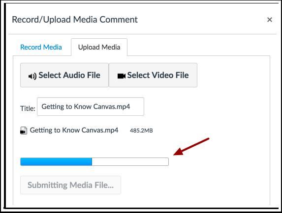 Carregar Arquivo de Vídeo