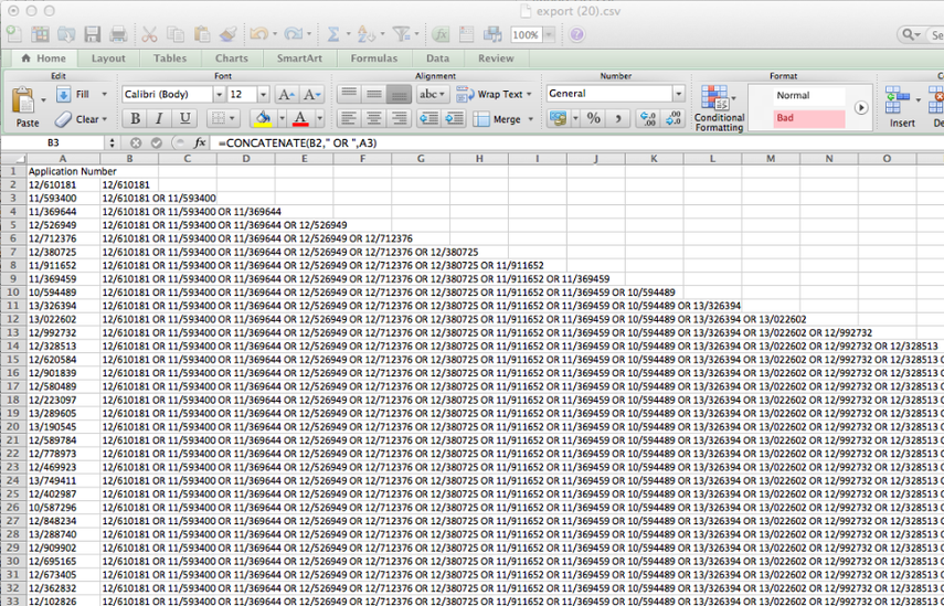 Create Your Query in Excel