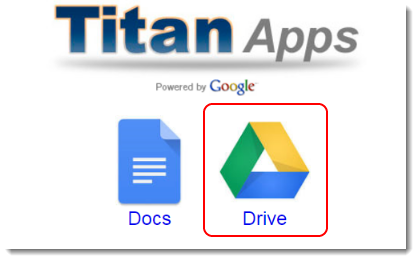 Click on the Google Drive icon.
