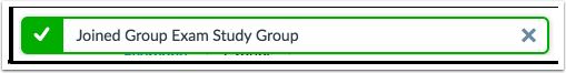 Verificar Inscrição no Grupo
