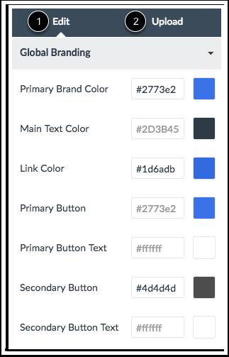 Visualizar Aba de Upload de CSS/JS