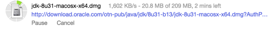 Downloading Java SDK (JDK)