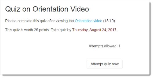 Offer quizzes in TITANium