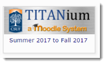 Click on the TITANium-A Moodle System button at the top of the page