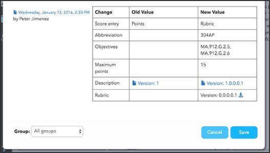 Custom Activity History tab