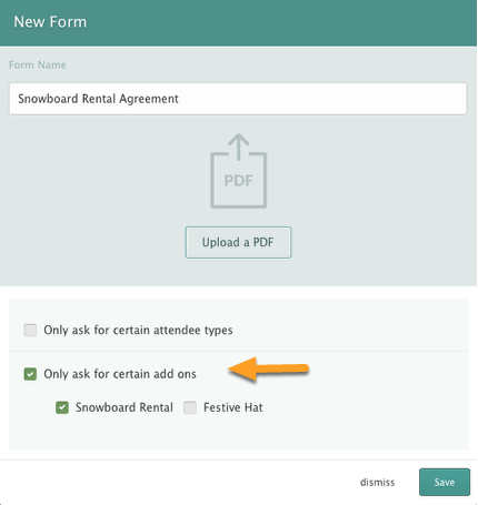 Setting Form Requirements