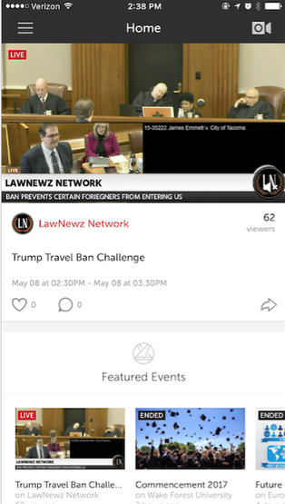 Watch an Event with the Livestream Mobile App – Livestream