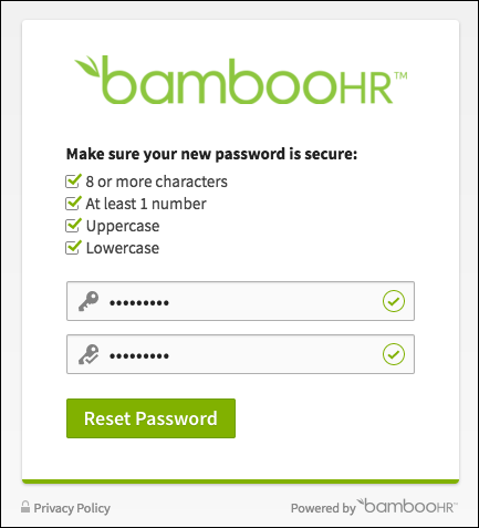 Employee Access Manual – BambooHR Support
