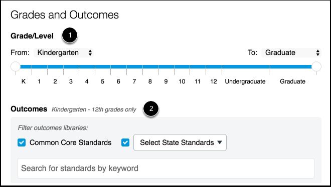Grades and Outcomes