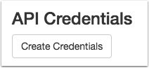 View API Credentials