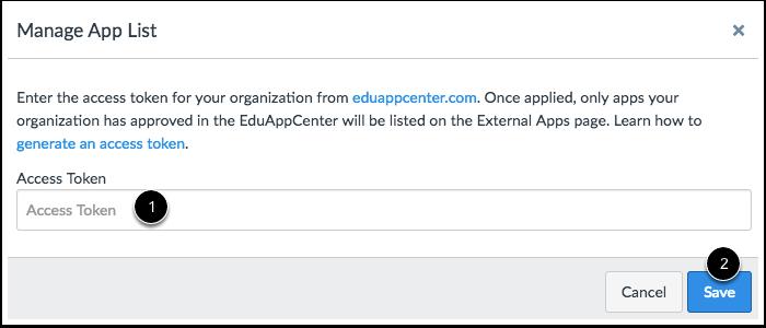 Enter API Token