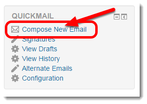 Click on 'Compose New Email'.