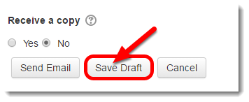 Click on Save Draft.