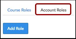Click Account Roles Tab