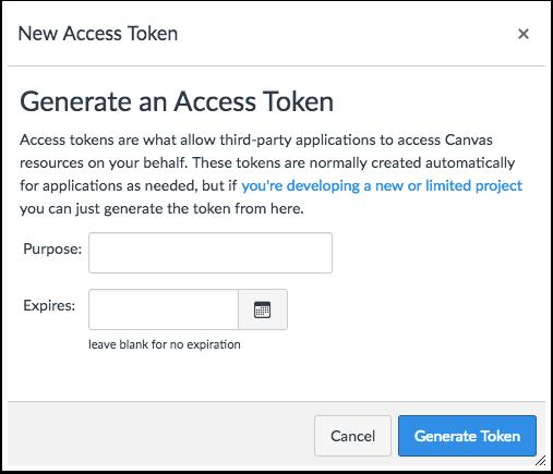 Obtain API Access Token