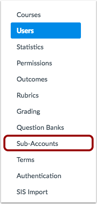 View Users in Sub-Accounts