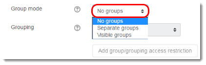 Group mode.