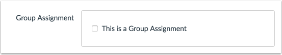 Add Group Assignment