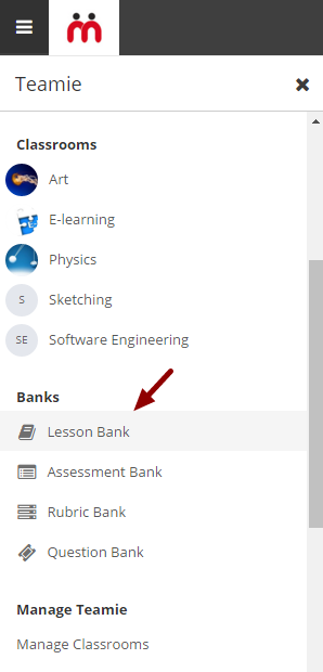 Copying a lesson from Lesson Bank