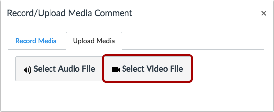 Select Video File