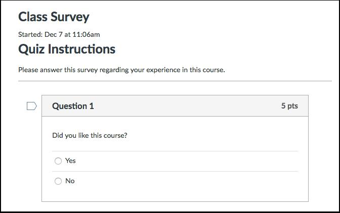 Complete Survey