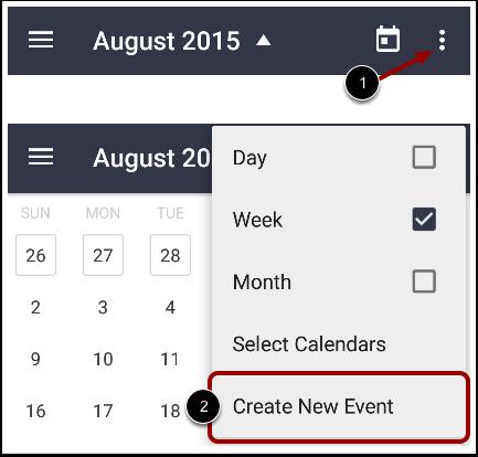 Add Calendar Event