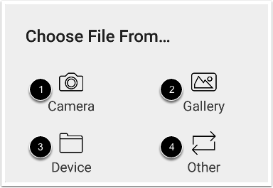 Select File Location