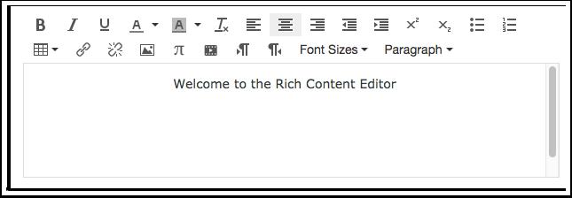 Abrir o Editor de Conteúdo