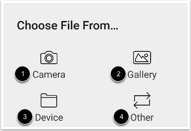Choose File Location