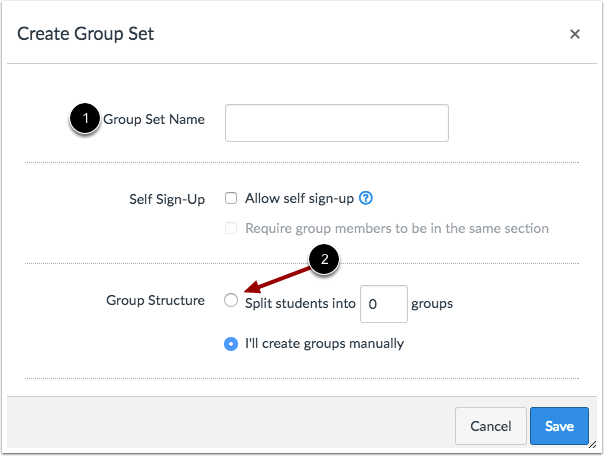 Create Groups Automatically