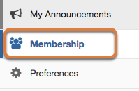 Go to Membership.