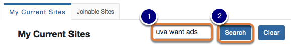 (Optional) Enter site title and Search.