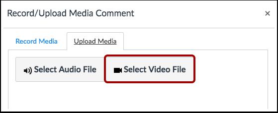 Välj Videofil